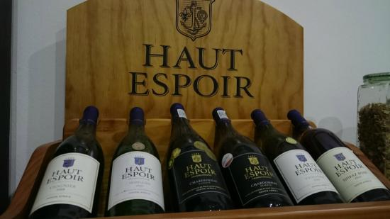 Haut Espoir Winery