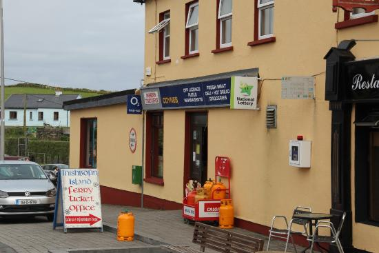 Inishbofin, Ierland: Ferry ticket office