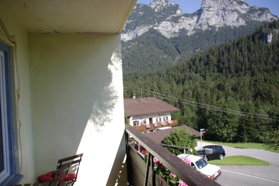 Alpenhotel Beslhof: Terraza