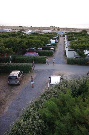 Camping Le Saint Martin: Depuis leur terrasse panoramique
