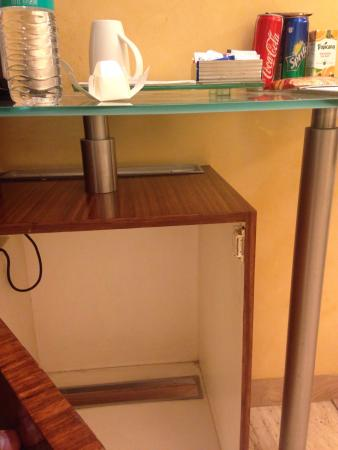The Mini Bar Cabinet With No Fridge Shame Picture Of Mirage