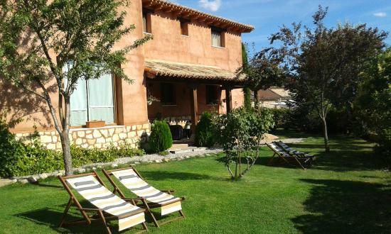 Alboreca, España: Casa y solarium