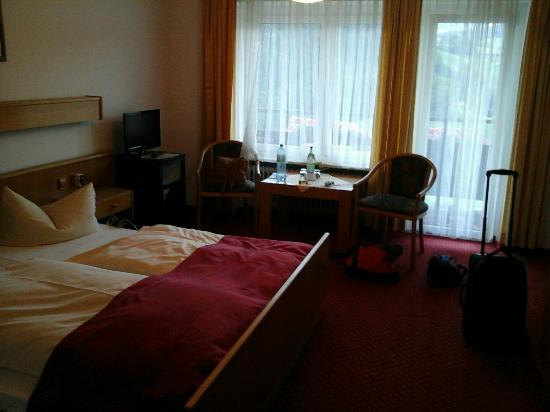 Alpenhof Hintersee: our room