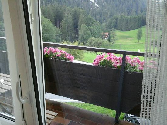 Alpenhof Hintersee: our terrace