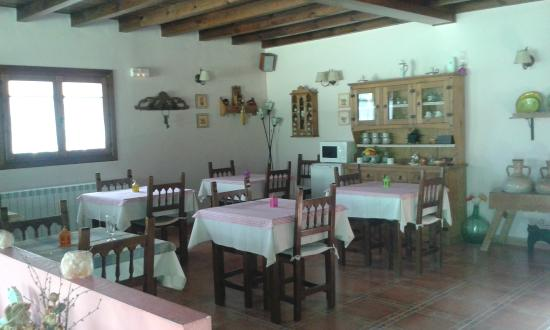 El Balcon de Alboreca: Comedor