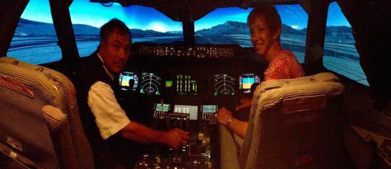 Coventry, UK: After landing safely at Salzburg