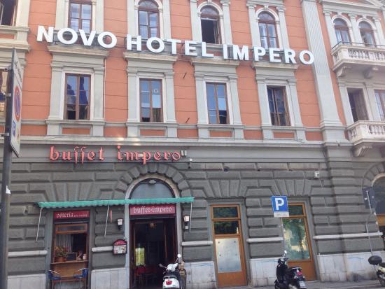 B&B Hotel Trieste: Ingresso