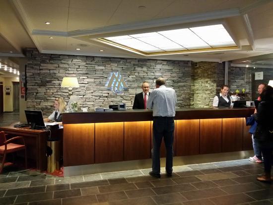 Reception Of Hotel Union
