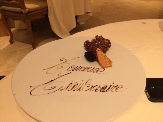 Noirefontaine, Belçika: Michelin Quality Food