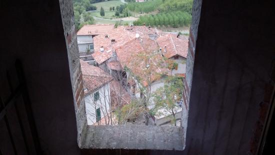 Trisobbio, Italia: La vista dalla camera