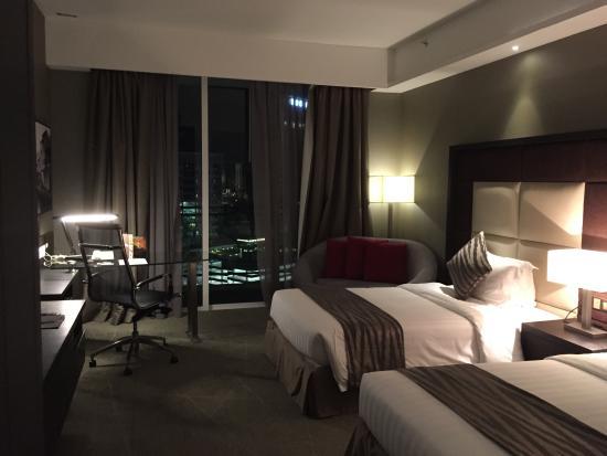 Deluxe twin picture of swiss garden hotel melaka melaka for Garden rooms reviews