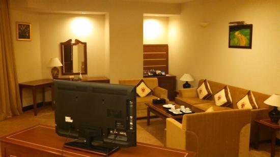 Tan Son Nhat Saigon Hotel: 室内写真1 ソファー側