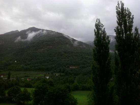 Hotel El Mirador: vista desde la terraza de la habitación