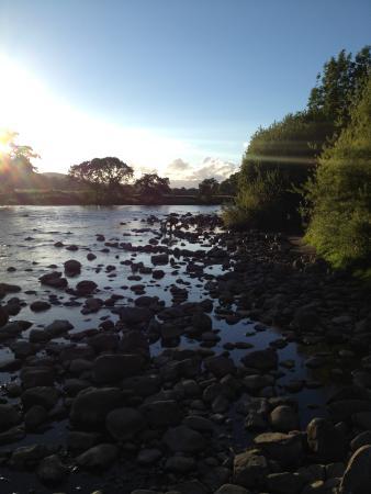 Masons Campsite: River