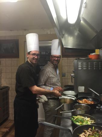 Koté Pêche : En cuisine moment génial,