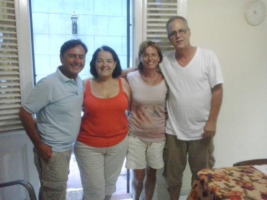 Casa Hilda y Alejandro: Con Hilda e Alejandro