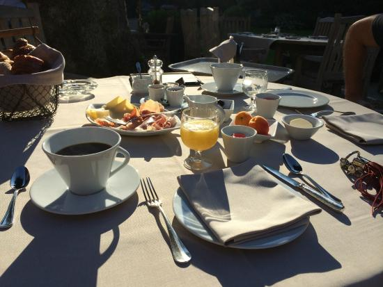 Noirefontaine, Belgia: Breakfast