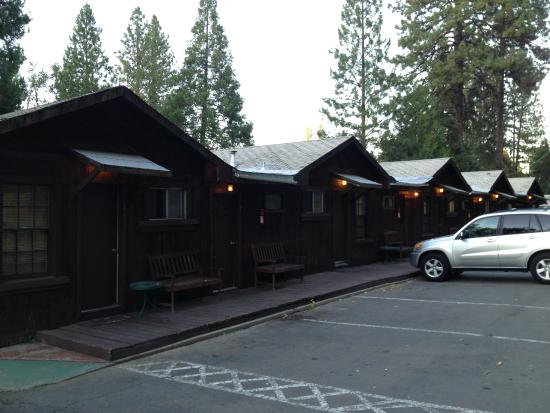 Groveland Motel & Indian Village : Motel rooms