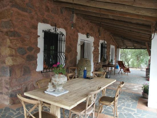 valle del arroyo casas rurales bed u breakfast porche de la casa grande
