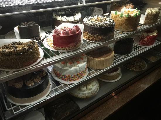 The Diner at Sugar Hill: dessert case