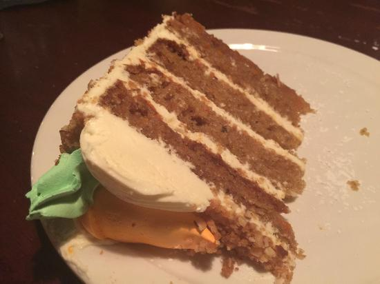 The Diner at Sugar Hill: Carrot cake