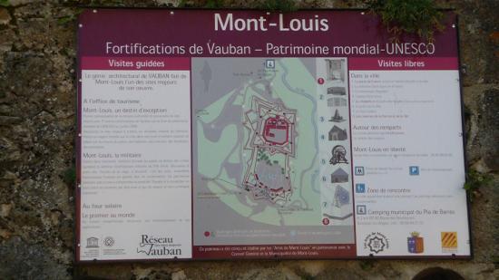 La Citadelle de Mont-Louis : plan