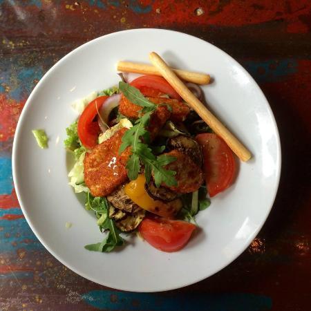 Dulac : Salade Halloumi