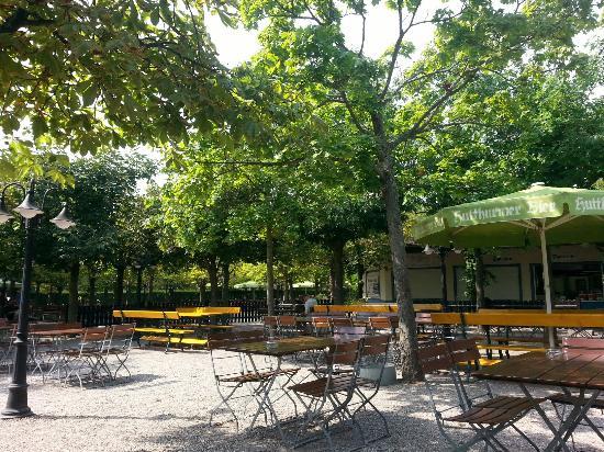 Bayerischer Biergarten