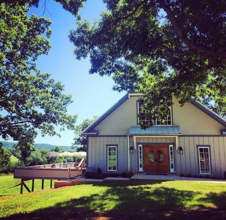 Crozet, Вирджиния: Vineyard Tasting Room