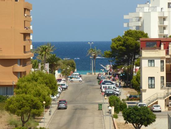Garbi Cala Millor: Vista desde o apartamento