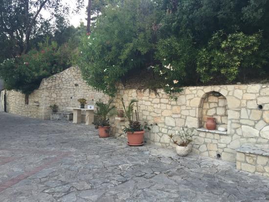 Villa Contessa: Innenhof