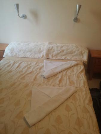 Puerto Azul Hotel: Handdoeken