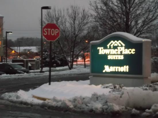 TownePlace Suites Mt. Laurel: 入口表示