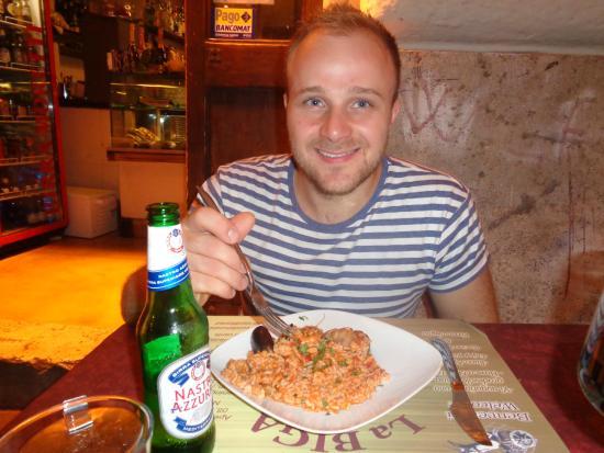 La Biga: seafood risotto