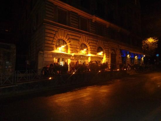 La Biga: outside the hotel