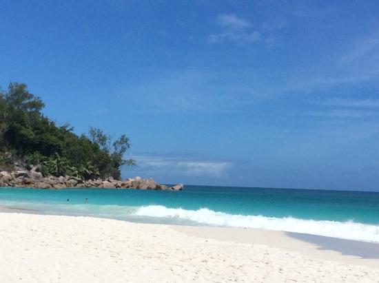 Praslin Island, Seychelles: ビーチ