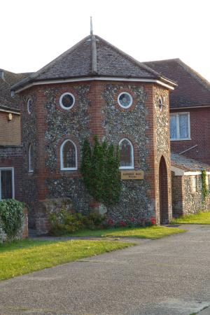 Bawdsey, UK: Hall Entrance