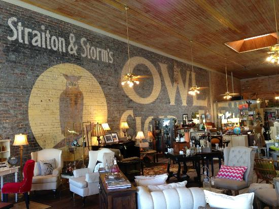 The Owl is a Home Goods Store and Wine Bar Combination ...