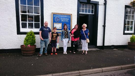 Family fun at Ecclefechan Hotel