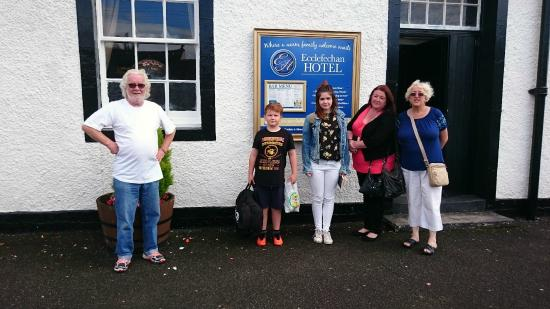 Ecclefechan Hotel: With Mick Mcnally