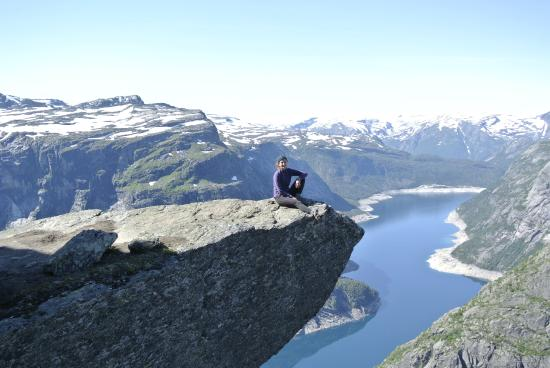 Odda, Noruega: at the top