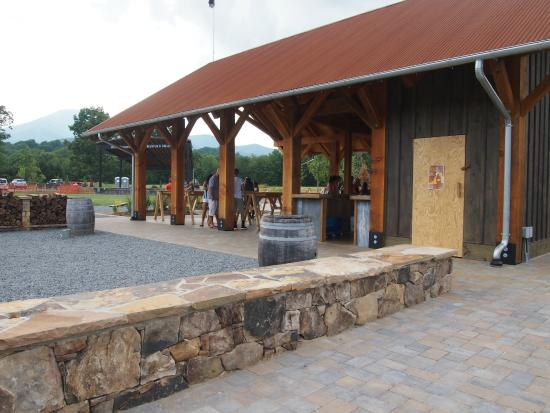Devils Backbone Brewing Company: New seating outdoors