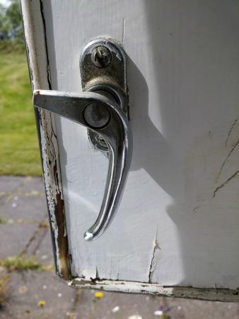Fosshotel Reykholt: Window lock