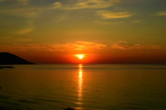 Hotel Riviera: Sonnenaufgang