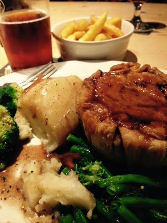 The Royal Oak at Burford: Amazing food!