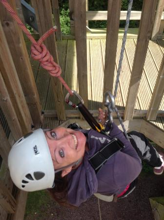 The Adventure Rope Course: Abseiling