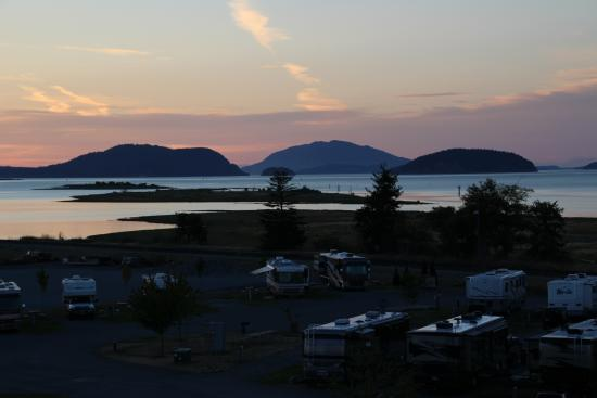 Swinomish Casino & Lodge: awesome view from room