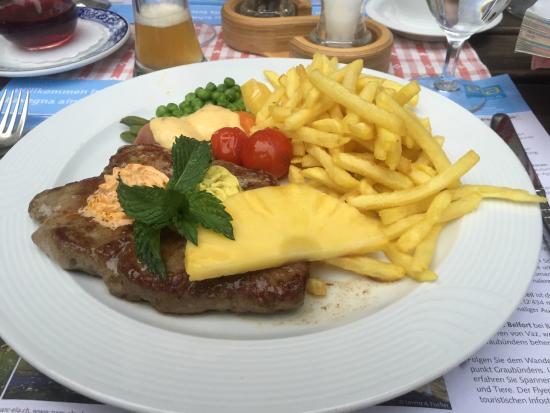 Schontal, Hotel: ランプステーキ