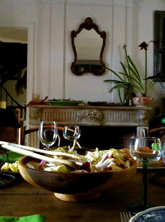 Huismes, Francia: The Dining Room