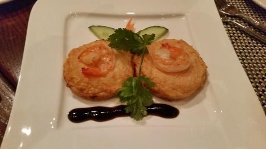 Islands Dining Room at Loews Royal Pacific Resort: Shrimp Toast